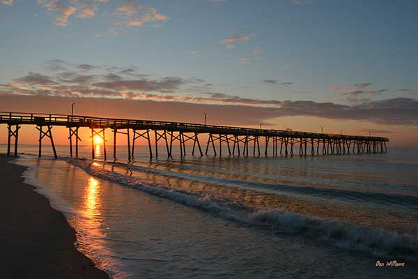 Sunrise at Oceanana Pier